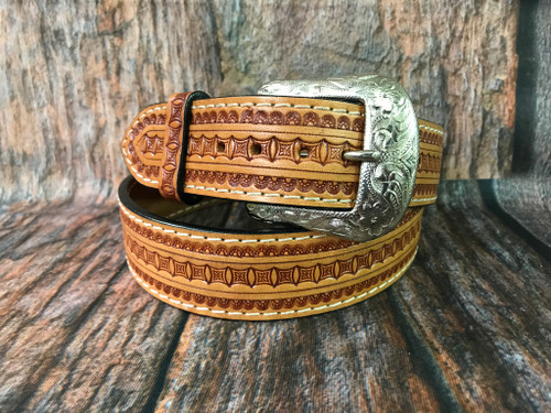 twisted x leather belt