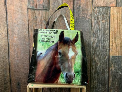 Mark Hershey Horse Feed Bag Tote
