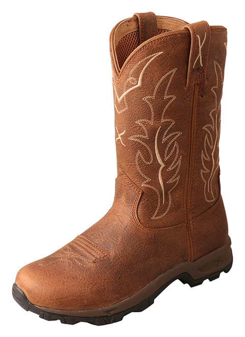 Twisted X Women's 10″ Pull-On Hiker Boot in Rust WHKB002