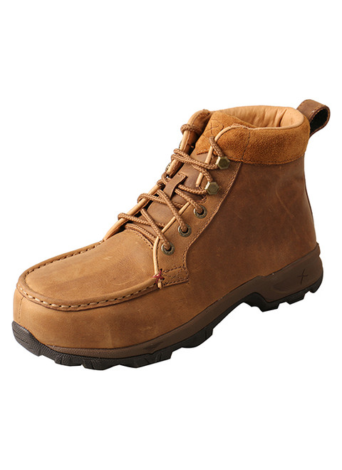 Twisted X Women's Work 6″ Alloy Toe Hiker Boot – Waterproof Tan WHKA001