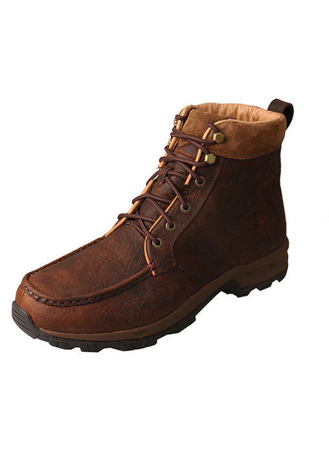 Twisted X Men's Work 6″ Comp Toe Hiker Boot – Thinsulate – Waterproof Dark Brown MHKWC02