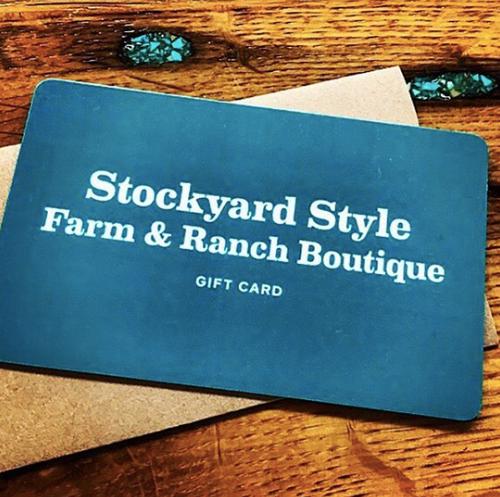 Stockyard Style Gift Card