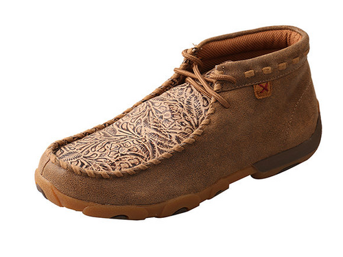 WDM0080 Twisted X Women's Bomber and Nude Tooled Chukka Moc