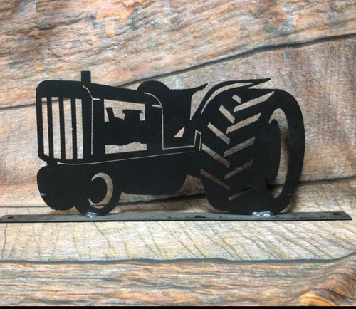 Metal Tractor Mailbox Topper