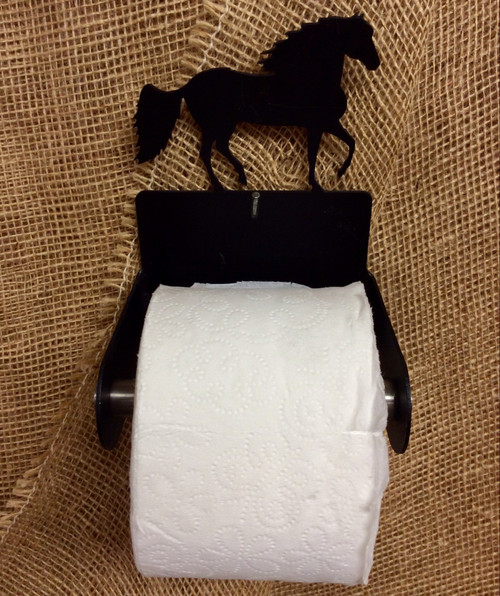 Metal Paso Fino Toilet Paper Holder