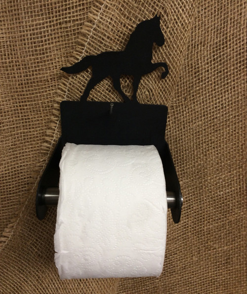 Metal Tennessee Walker Toilet Paper Holder