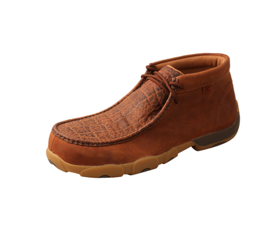 Twisted X Men's Tan Nano Safety Toe Chukka Driving Moc MDMNT01