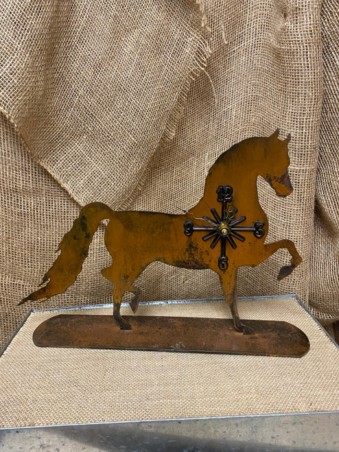 Brown Tennessee Walker Clock