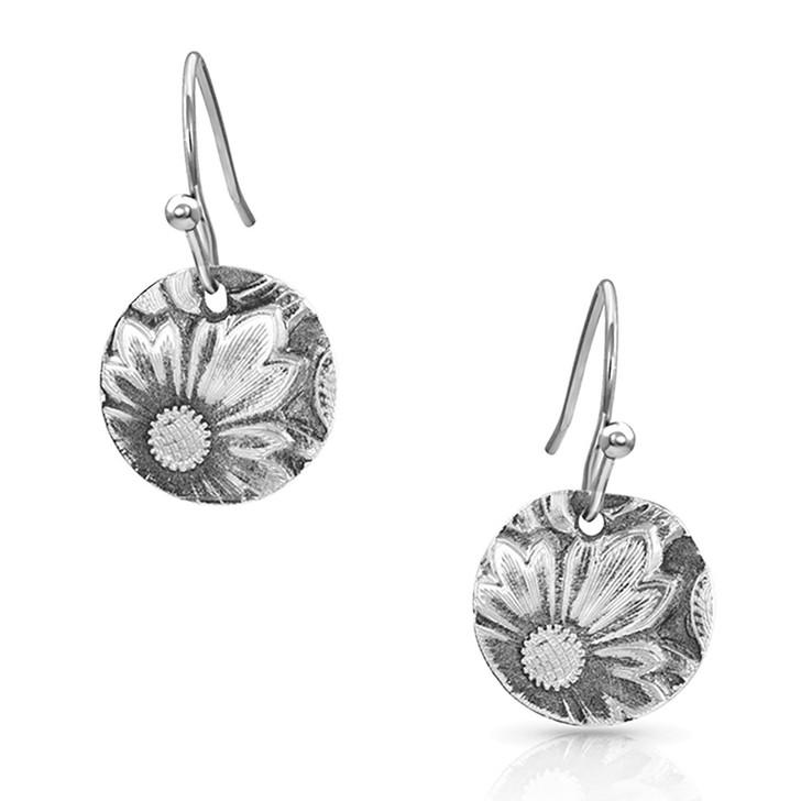 Montana Silversmiths Art of the Buckle Concho Earrings ER4660
