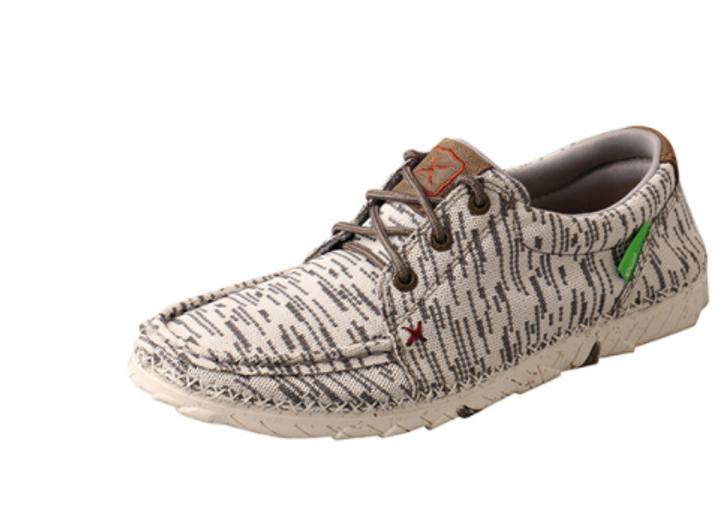 Twisted X Women's Zero-X Eco Shoe in White and Grey WZX0001