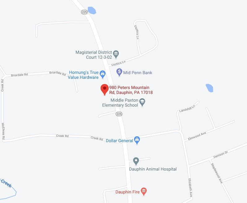 Google Map showing Stockyard Style store location