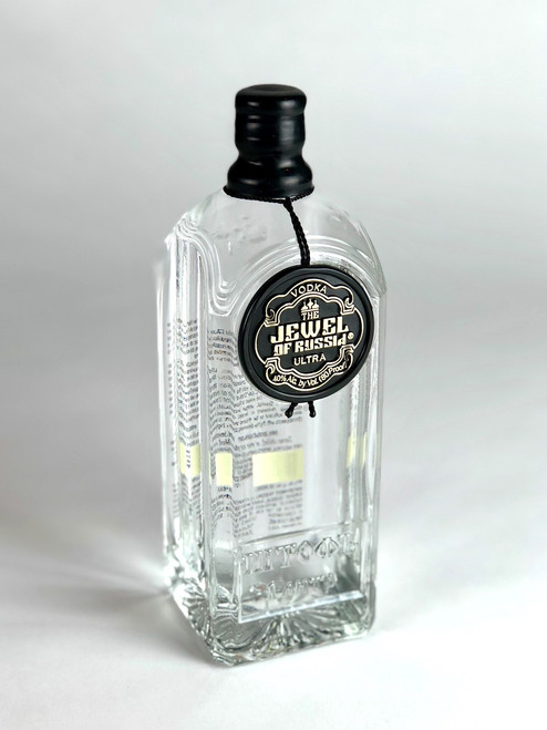 JEWEL OF RUSSIA BLACK LABEL VODKA 1L*