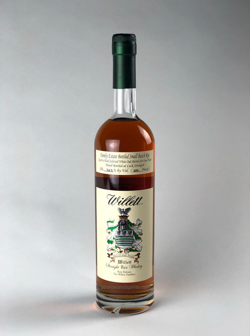 4 YEAR OLD SMALL BATCH STRAIGHT RYE WHISKEY