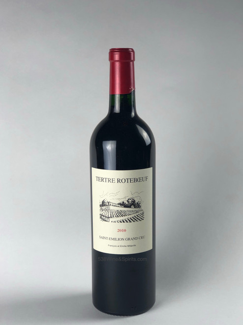 CH TERTRE ROTEBOEUF, ST EMILION - 2010