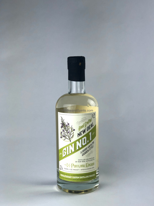 New Deal Distillery Gin No 1