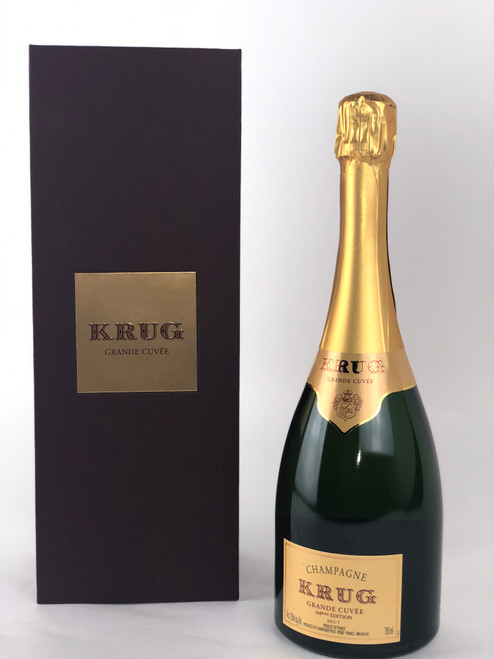 KRUG GRAND CUVEE BRUT CHAMPAGNE - 168TH EDITION