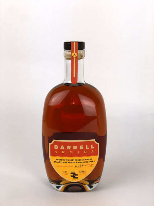 BARRELL ARMIDA - BOURBON WHISKEY - FINISHED IN BRANDY , RUM, SICILIAN AMARO CASK