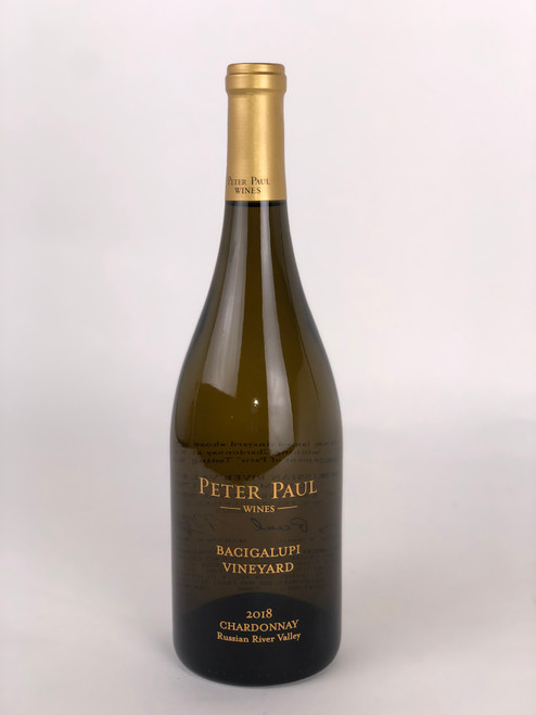 PETER PAUL CHARDONNAY BACIGALUPI VINEYARD RUSSIAN RIVER VALLEY 2018
