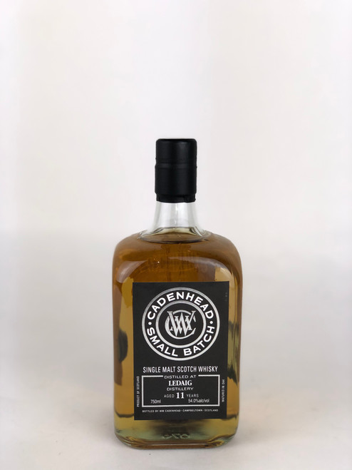 CADENHEAD'S SINGLE MALT SMALL BATCH LEDAIG 11 YEARS SCOTCH