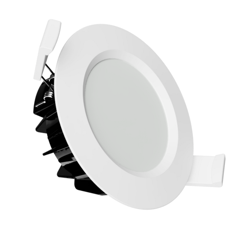 Kainos LED Downlight 3k - White, Black or Brushed Aluminium
