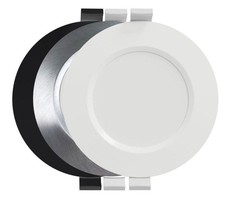 Eve G4 LED Downlight 5k Studio - White, Black or Brushed Aluminium