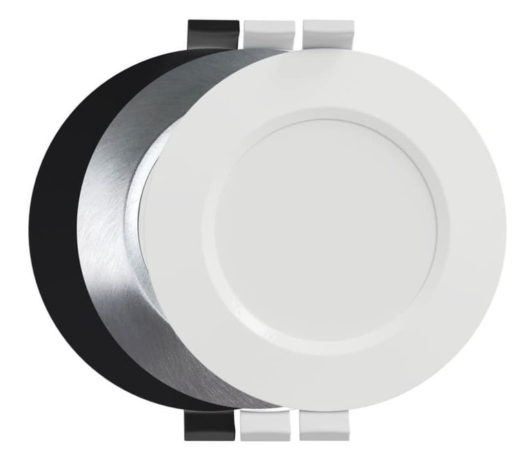 EVE XL3 LED Downlight 5k - White, Black or Brushed Aluminium - 150mm