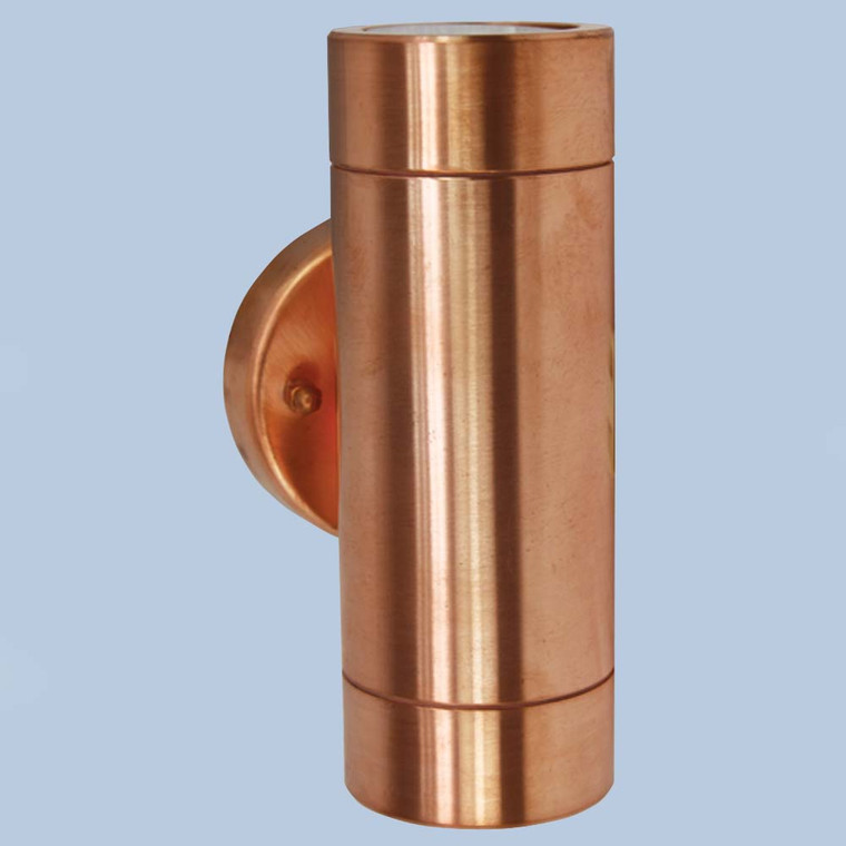 Up/Down Raw Copper Wall Light