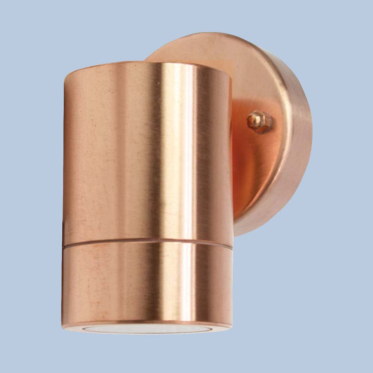 Up Or Down Raw Copper Wall Light