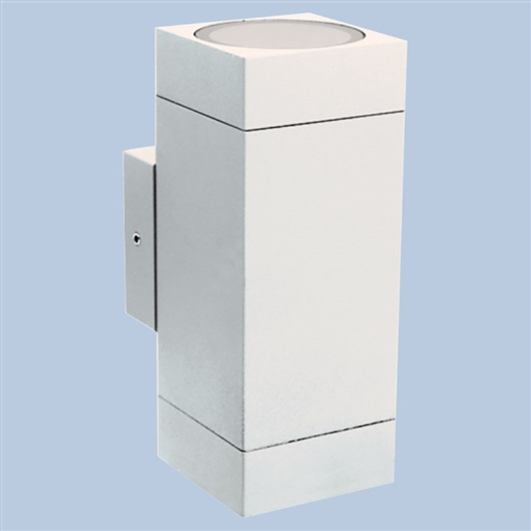 Cube Up/Down Wall Washer White