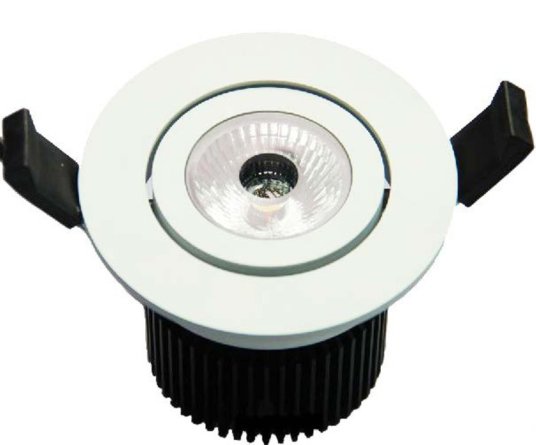 Recessed Down Light White or Black