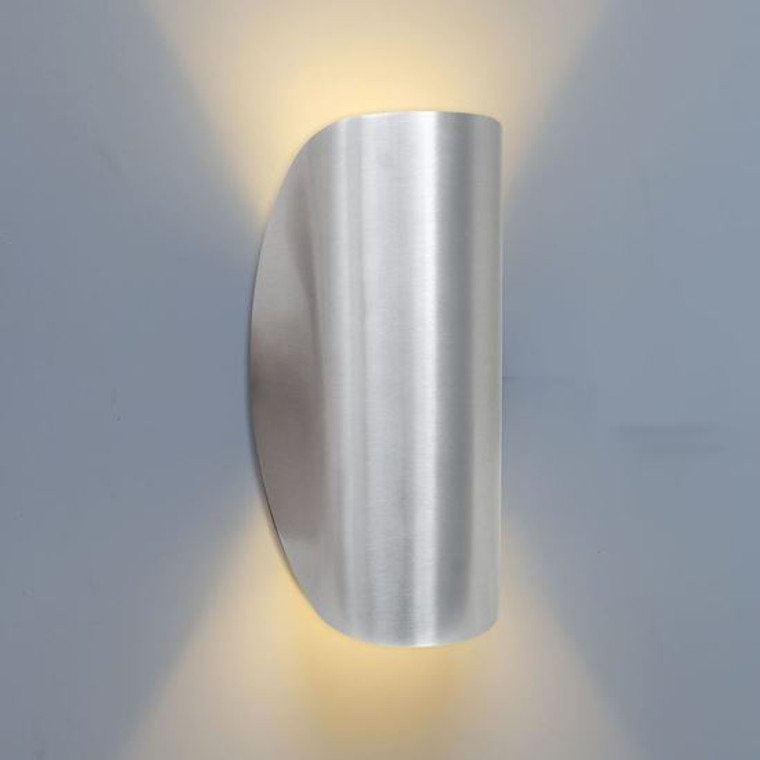 Ara Up/Down Light Brushed Aluminium