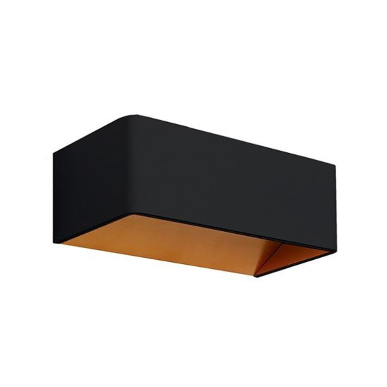Black & Gold 8W Wall Light
