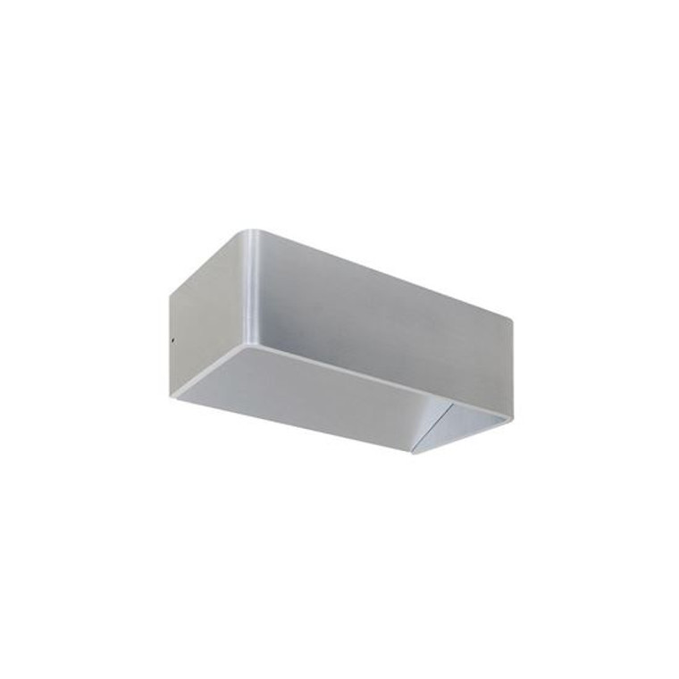Brushed Aluminium Wall Light