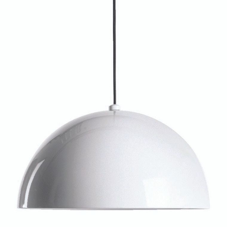 Corrugated Pendant White (Large)