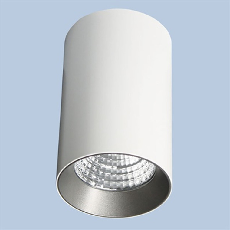 Round Fixed Surface Downlight White