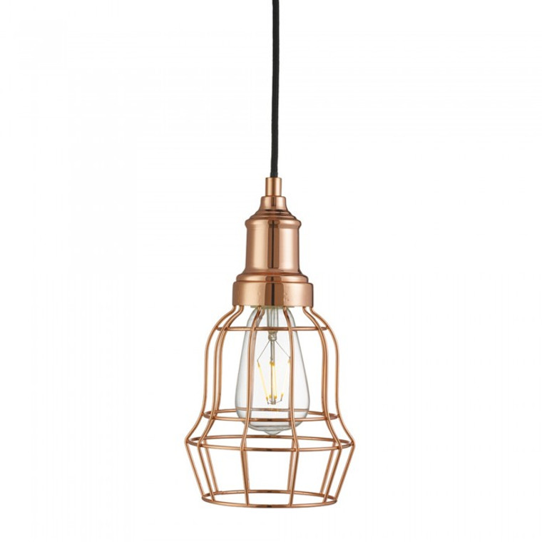 Guard Pendant Light - Copper