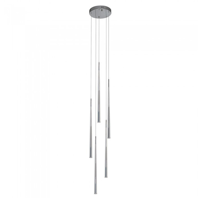 Contemporary LED 5 light Pendant