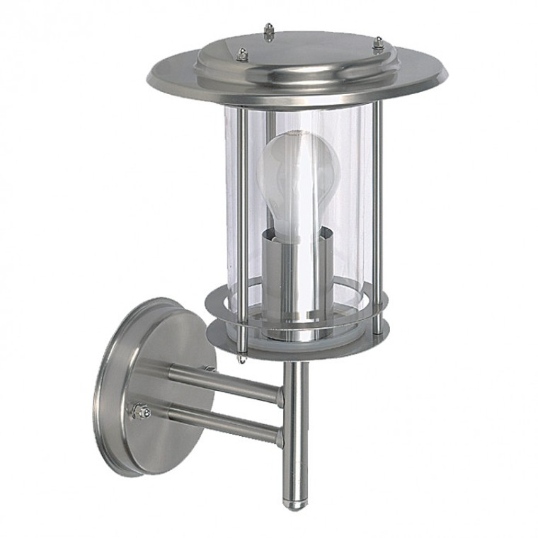 Incandescent Stainless Steel Wall Lantern
