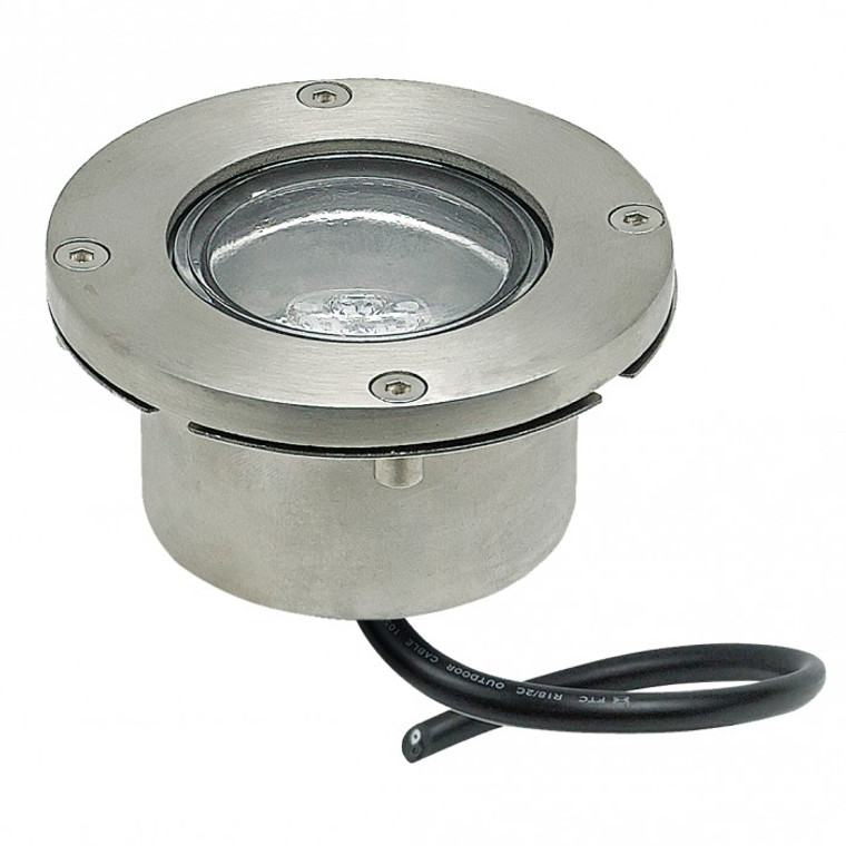 LED Recessed Light - Stainless Steel