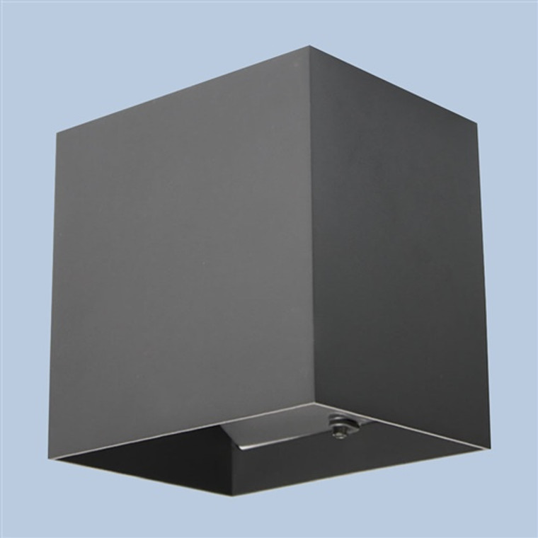 LED Square Wall Light - Graphite