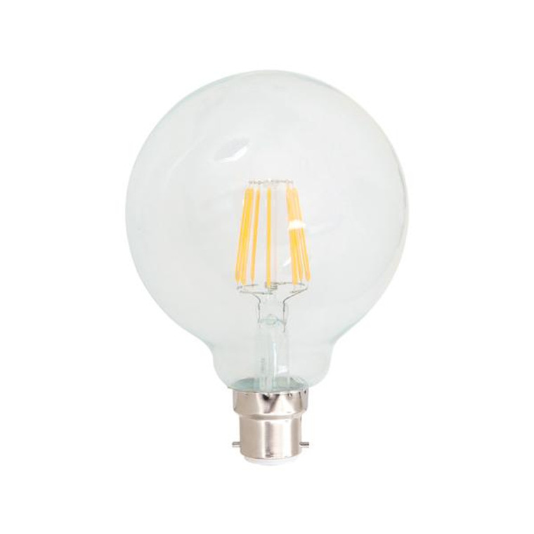 B22 7W LED Filament Lamp G95