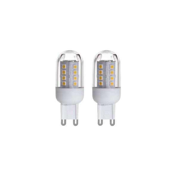Eglo 2.5w G9 LED TWIN PACK 4000K Cool White
