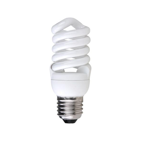 DISCOUNT PACK OF 10 CLA 15w E27 Mini Spiral CFL 2700K Warm White