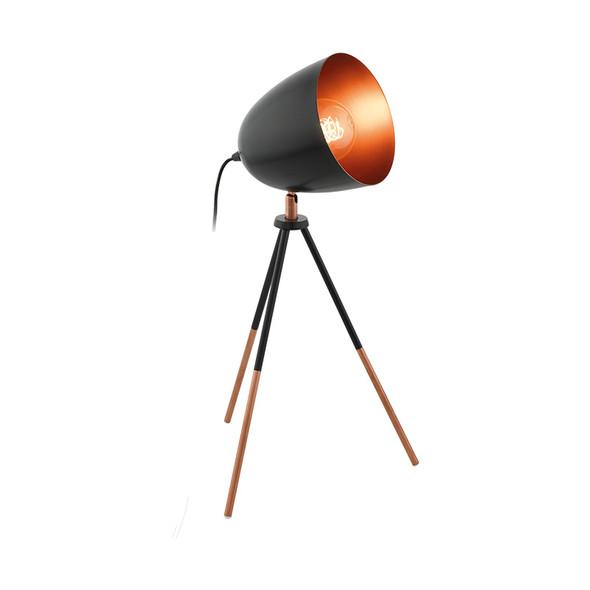 Eglo Chester Black & Copper Table Lamp