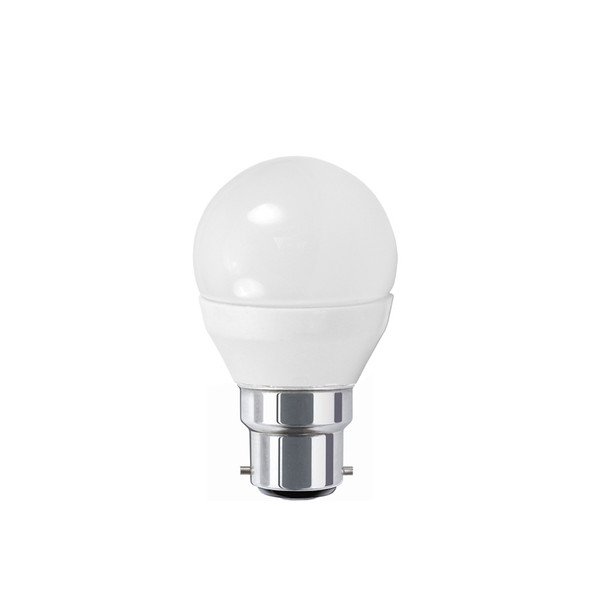 Atom 6w B22 LED DIMMABLE Fancy Round 4000K Cool White