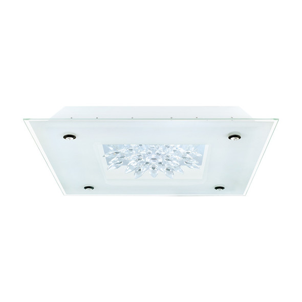 Eglo Benalua 36w LED Crystal Square Ceiling Light 3000K