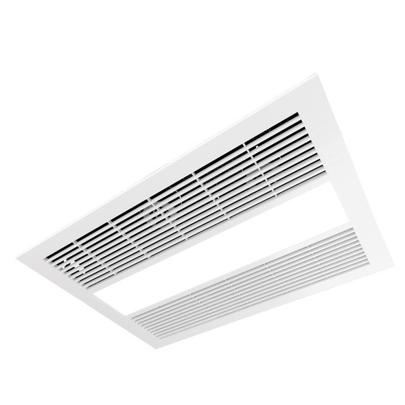 Ventair Sahara 4-in-1 White Exhaust Fan Light & Heater