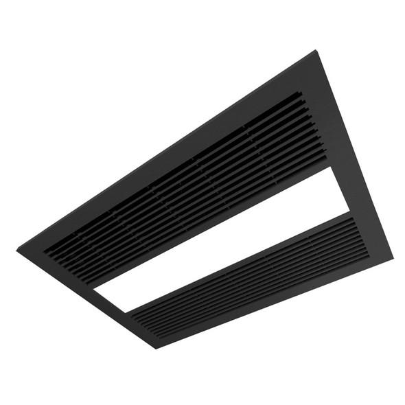 Ventair Sahara 4-in-1 Black Exhaust Fan Light & Heater