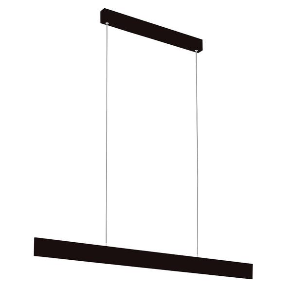 Eglo Climene 118cm 29w LED Black Hanging Pendant 3000K