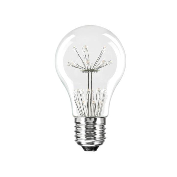 Brilliant Star Glow 3w E27 LED Vintage A60 GLS Shape